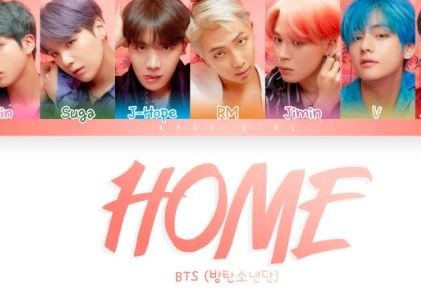 bts home lyrics english
