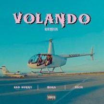 Photo of volando (remix) mora bad bunny & sech lyrics english